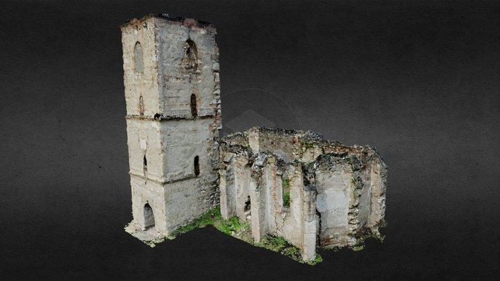 Benic Reformed Church_textured 3D Model