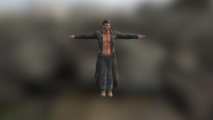 JUSTIN 3D Model