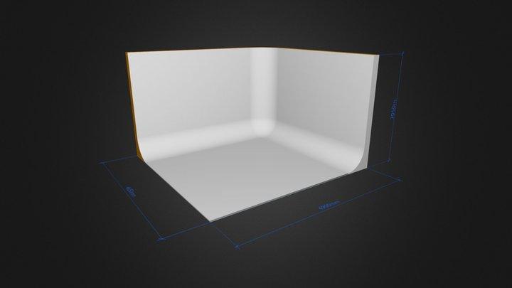 Cyclorama L-shape UMP v1 3D Model