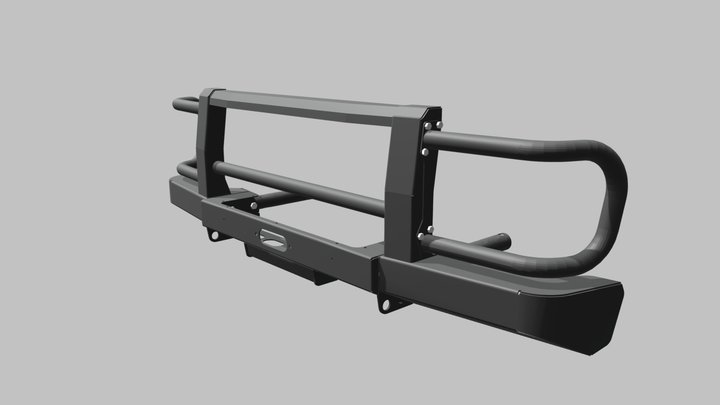 Bumper F-DESIGN 3D Model