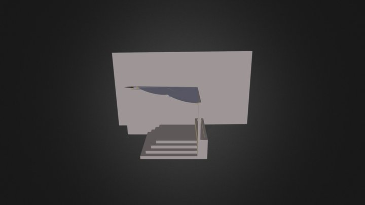 Acoperis Colegiu 3D Model