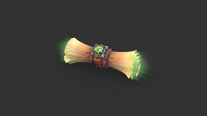 Death Scroll 3D Model