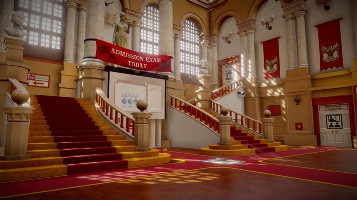 The Academy: Great Hall 3D Model