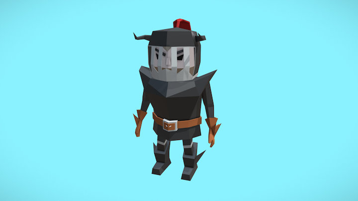 Son of the Dragon-Mythical Beasts Jousting Asset 3D Model