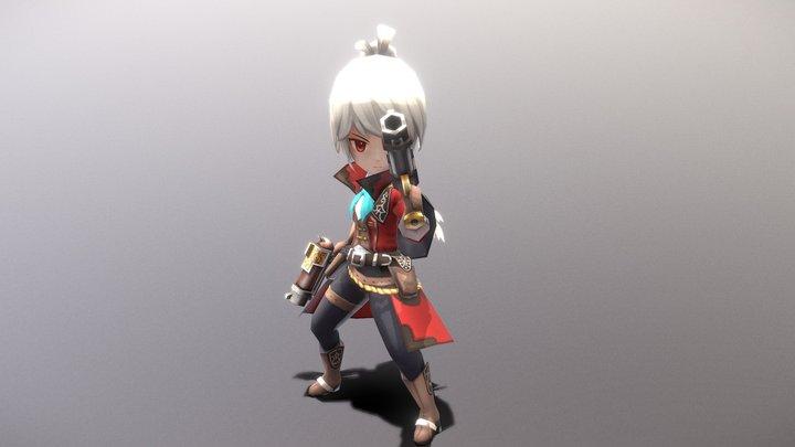 Casual RPG Character - 21 Philipe 3D Model