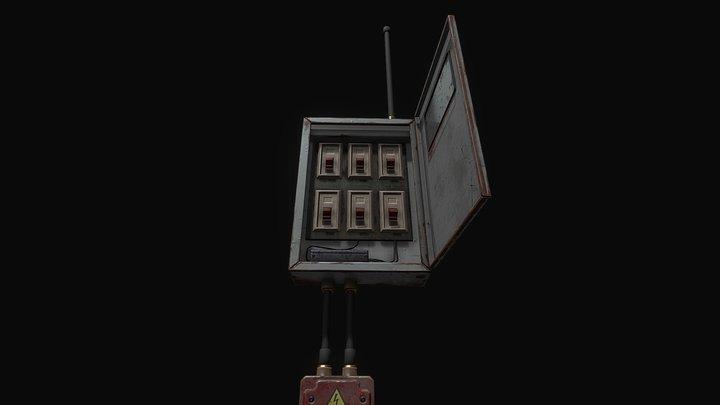 Distribution_Box 3D Model