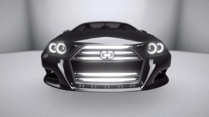 Automovil Sedan 3D Model