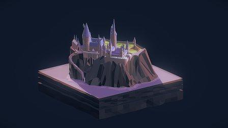 Hogwarts 3D Model