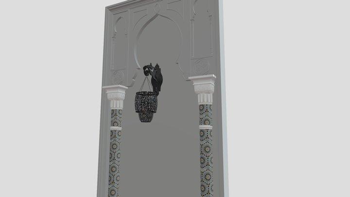 Potre Maroccan marrakech 3D Model
