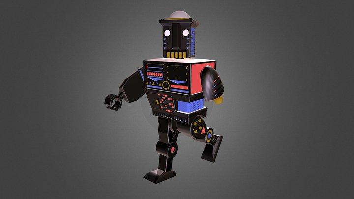 Toy Robot 3D Model