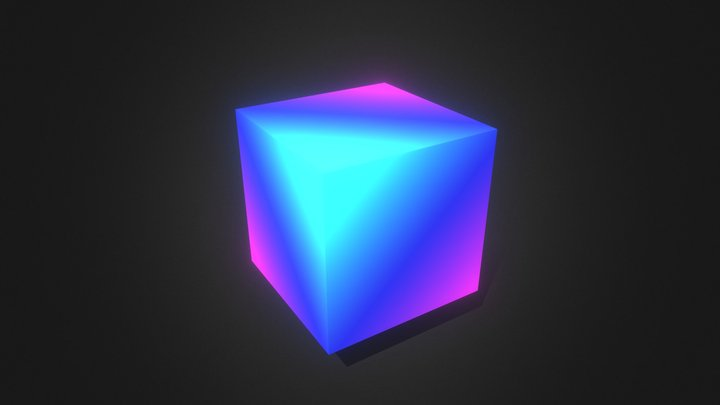 Rainbow morph animation 3D Model