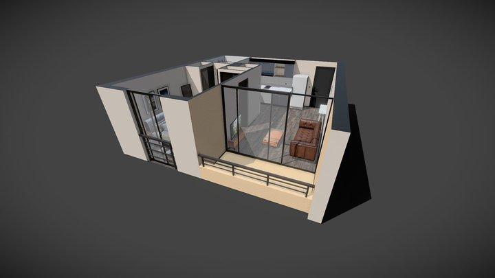 departamento Martinez de Rosas 3D Model
