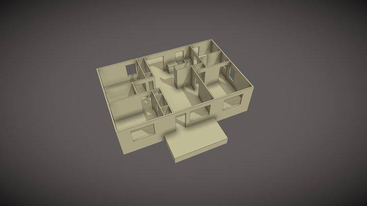 UMC-1040-Interior 3D Model