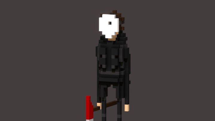 Psycho Fred 3D Model