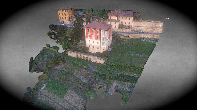 Rilievo 3d Terreno e Edifici 3D Model