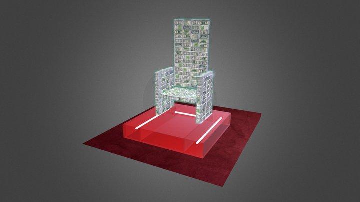 Money Throne 3D Model