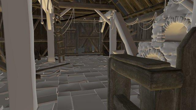 Blacksmith Building 3D Model