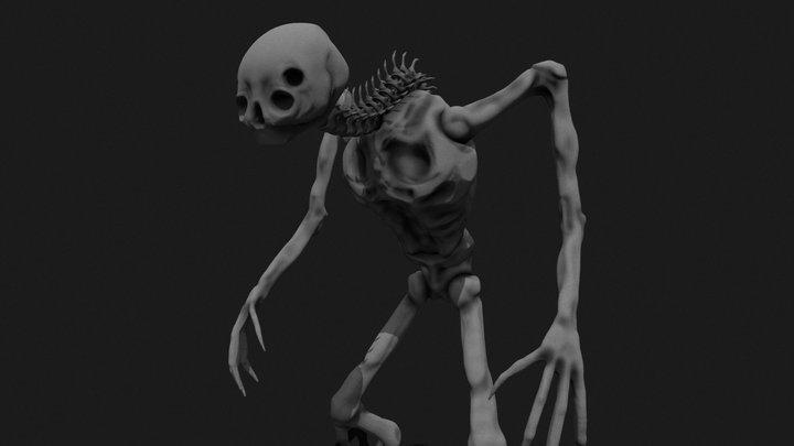 boney creature 3D Model