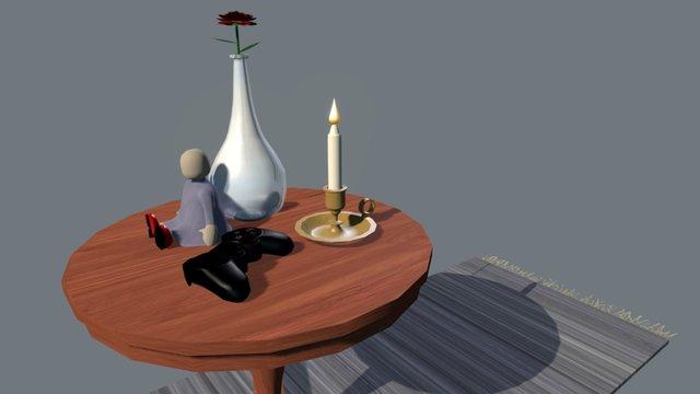 Ht16_Upg2_Semirealism 3D Model