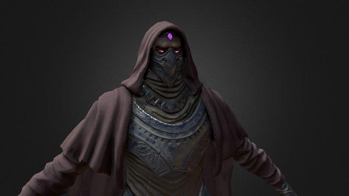 Darkmage 3D Model