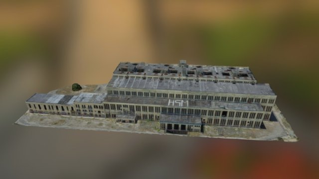 South Fremantle Power Station 3D Model