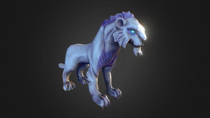 Mirana's Pet 3D Model