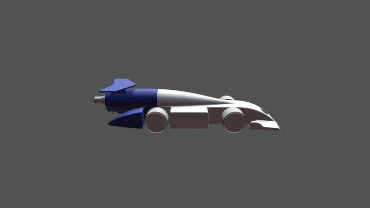 Final Car Regionals 2018 3D Model