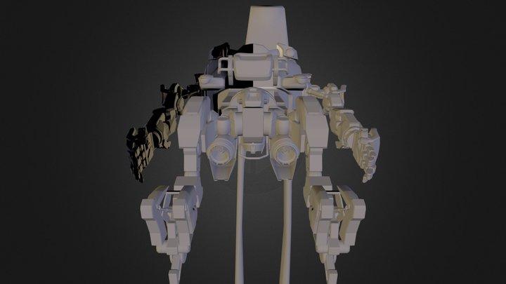 sketchfab-eggbot.fbx 3D Model