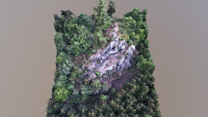 WIP Osobovská Rocks (Osobovská Skála) 3D Model