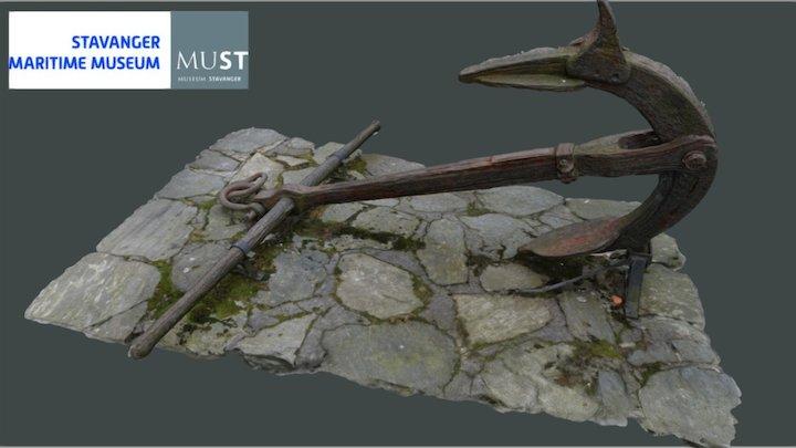 Trotmansanker/Trotman's Anchor 3D Model