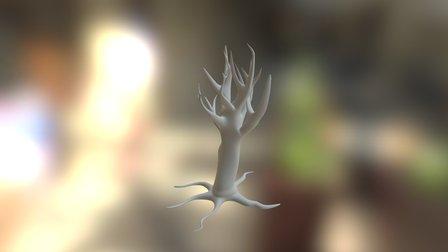 Strange tree V8 3D Model