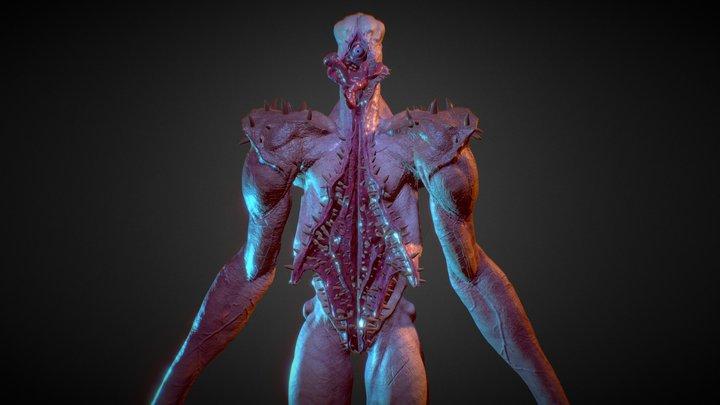 Creature concept 01 3D Model
