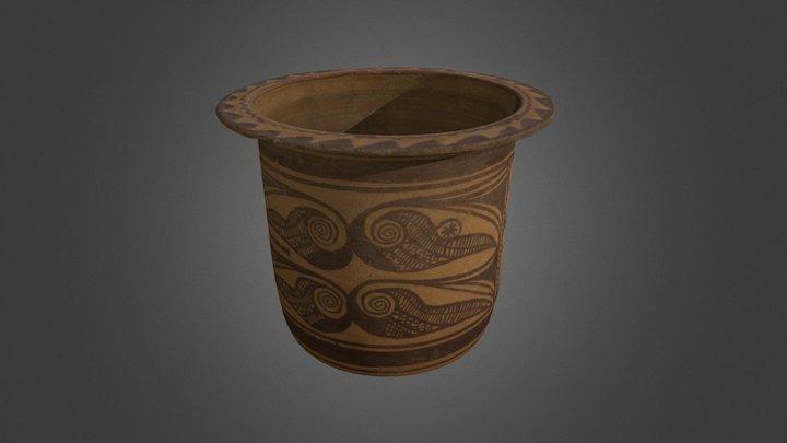 MAM - Pieza ibera: Kalathos 3D Model
