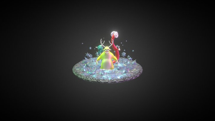 Strikeforecedemo 3D Model