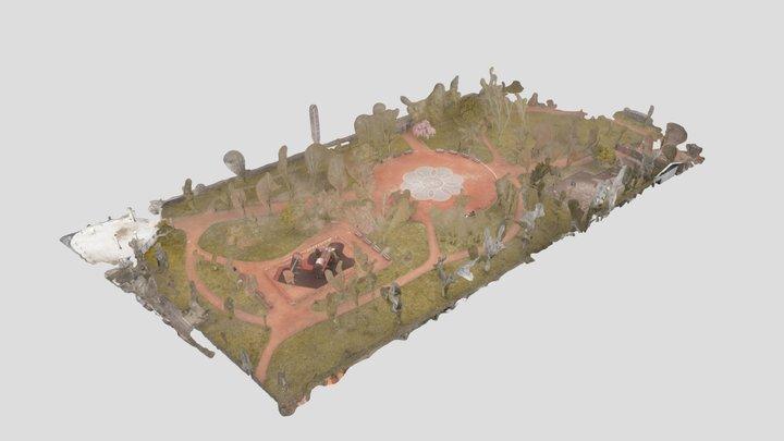 RELEVÉ DE TERRAIN3D Parc Eugène Maître Annemasse 3D Model