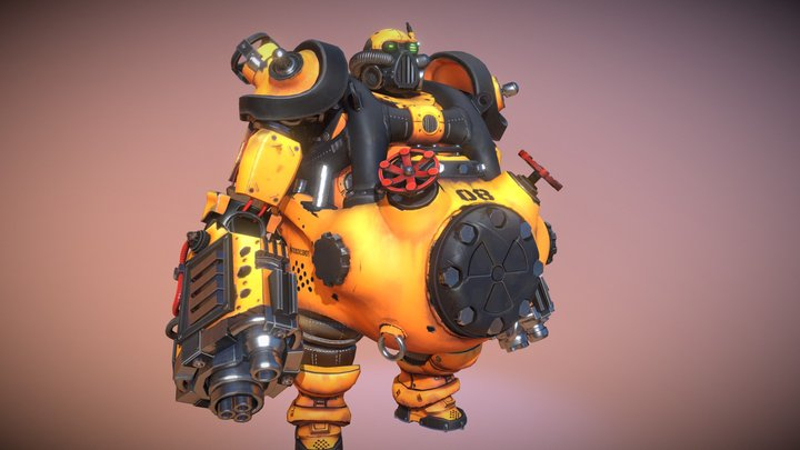 ToxicBot 3D Model