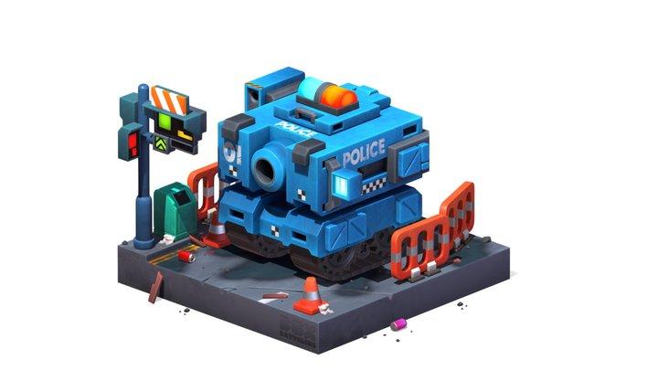 Box Battalion 3D Model