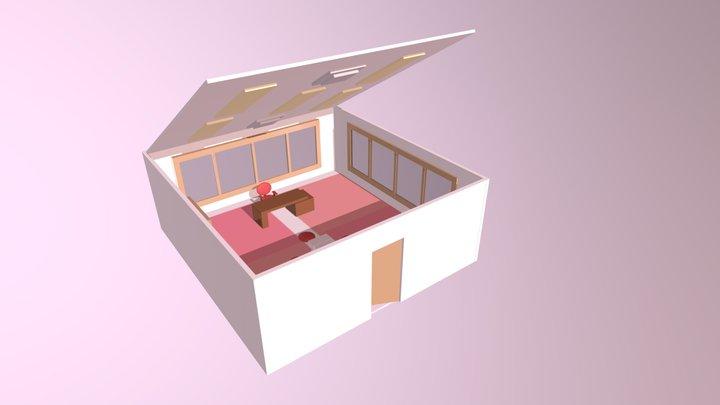 Alt_Valentine's Day Room Environment 3D Model