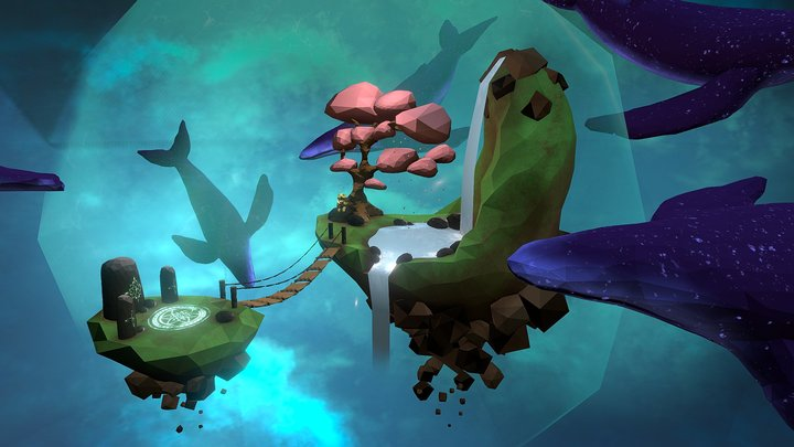 Fantasy Island 3D Model