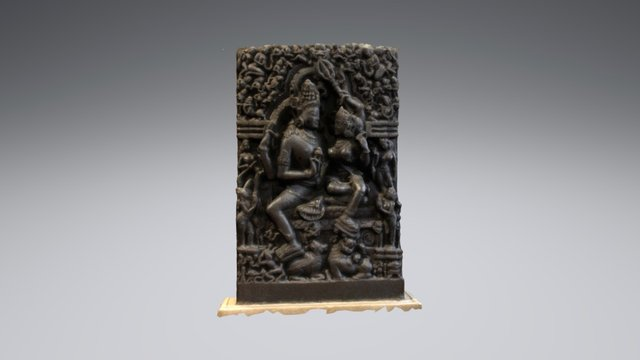 Shiva and Parvati - British Museum 3D Model