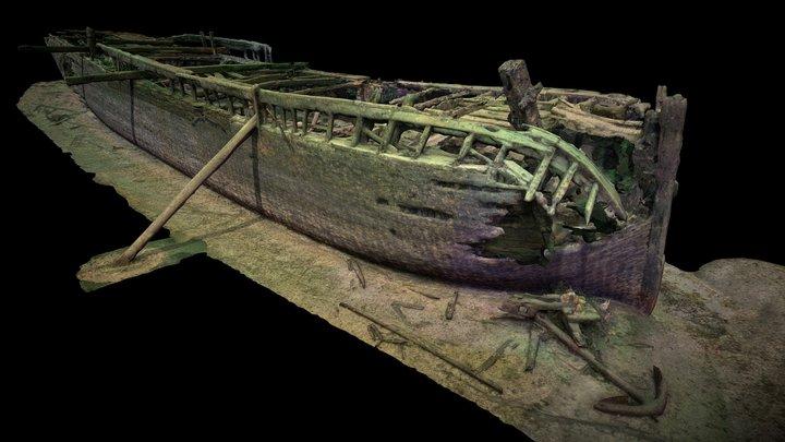 Robert Gaskin Wreck 3D Model
