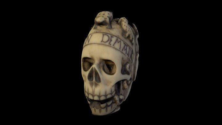 Ivory skull - Science Museum London 3D Model