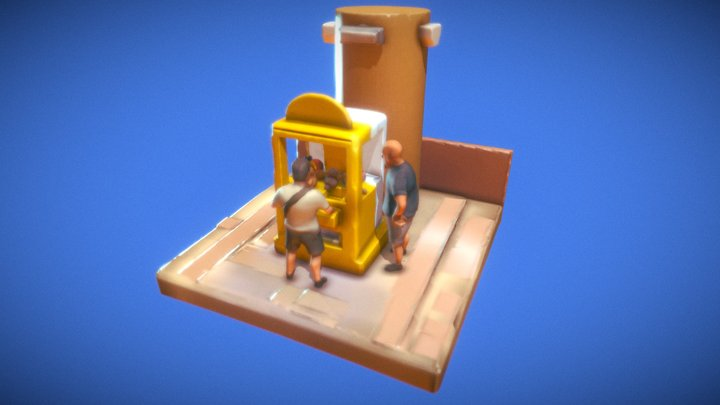 Catch me if you can! 3D Model