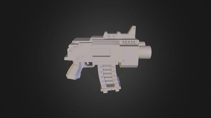Warhammer 40K Storm Bolter 3D Model