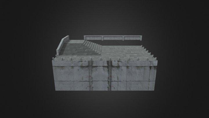 SmallDock 3D Model