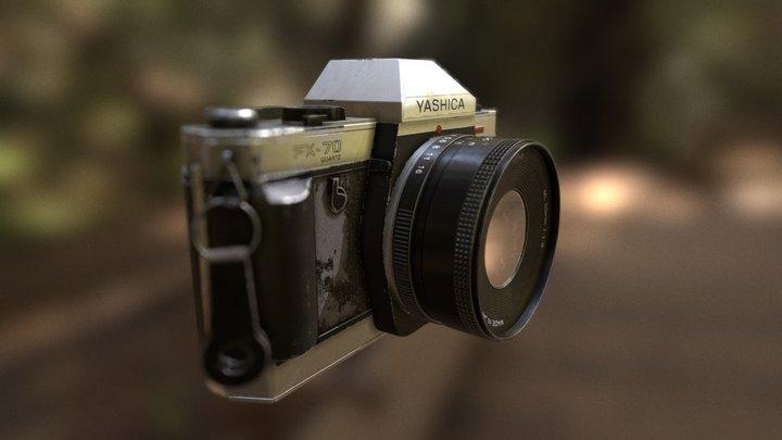 Free Film Camera - Yashica FX-70 Quartz 3D Model