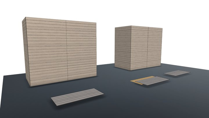 Kokomo Stubbe's Plank Form Liner 3D Model