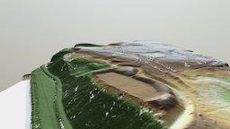 Ringwalburg Duno - Renkum (NL) 3D Model