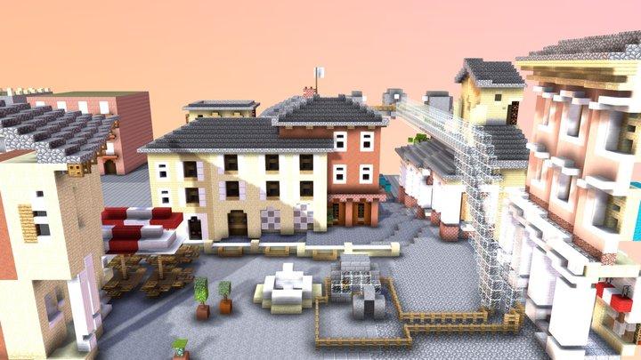 Vincitore 2^ Sfida Raffaello in Minecraft - MED 3D Model
