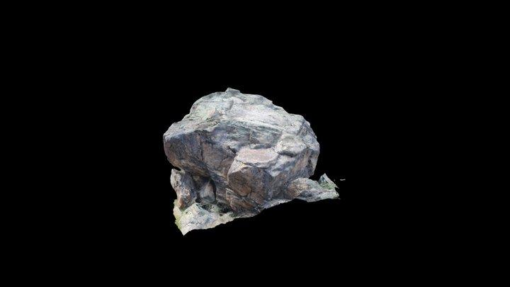 Indy Pass Boulder1LOWPOLY 3D Model